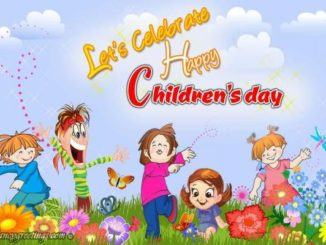Happy Childrens Day Wishes Greeting Cards -Download