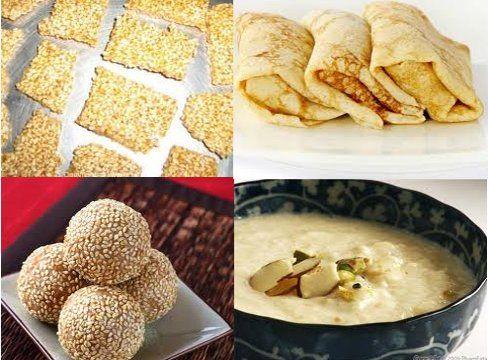 Makar Sankranti Dry fruit gajak