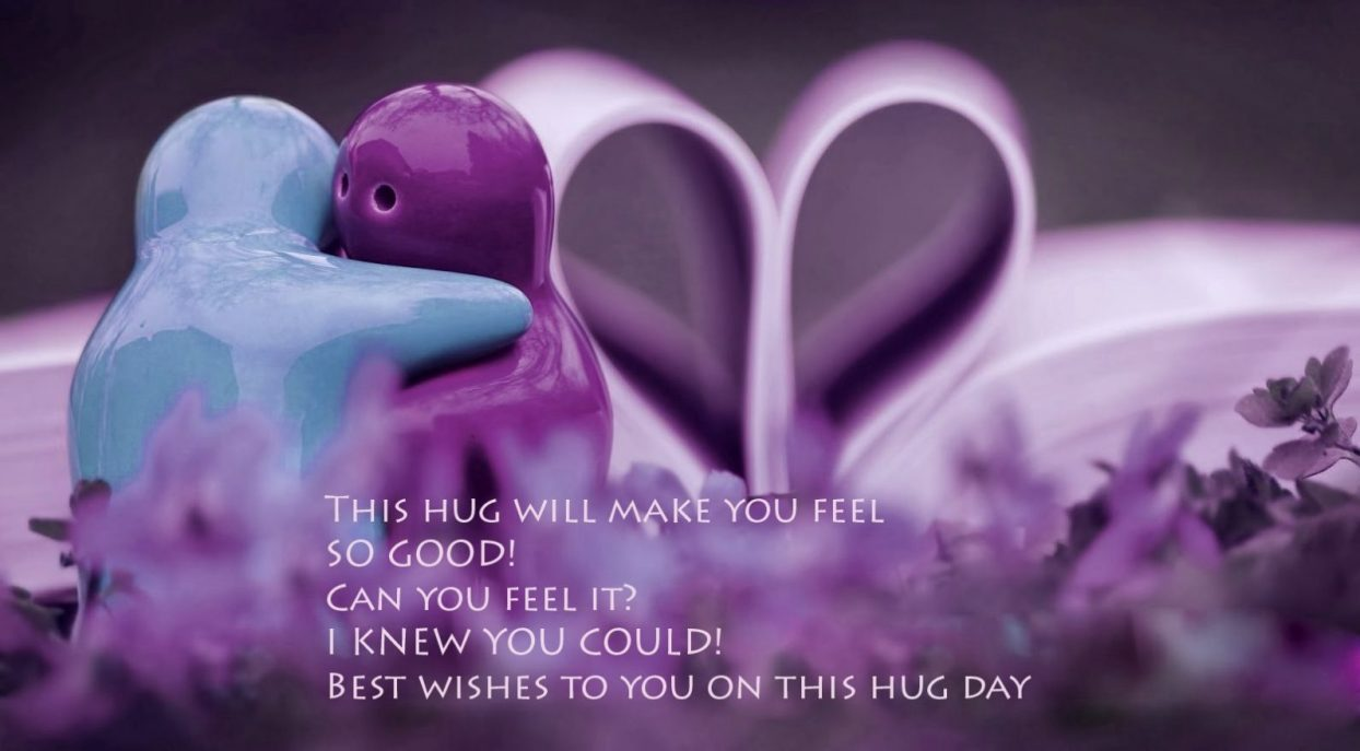Hug Day Status for Whatsapp and Messages for Facebook