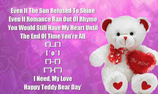 Teddy Day Status for Whatsapp and Messages for Facebook