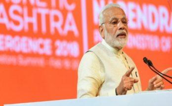 Prime Minister Narendra Modi: Human Purposes Will Boost Artificial Intelligence