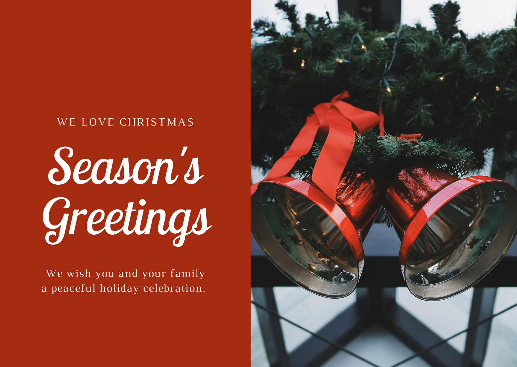 Canva Christmas Cards