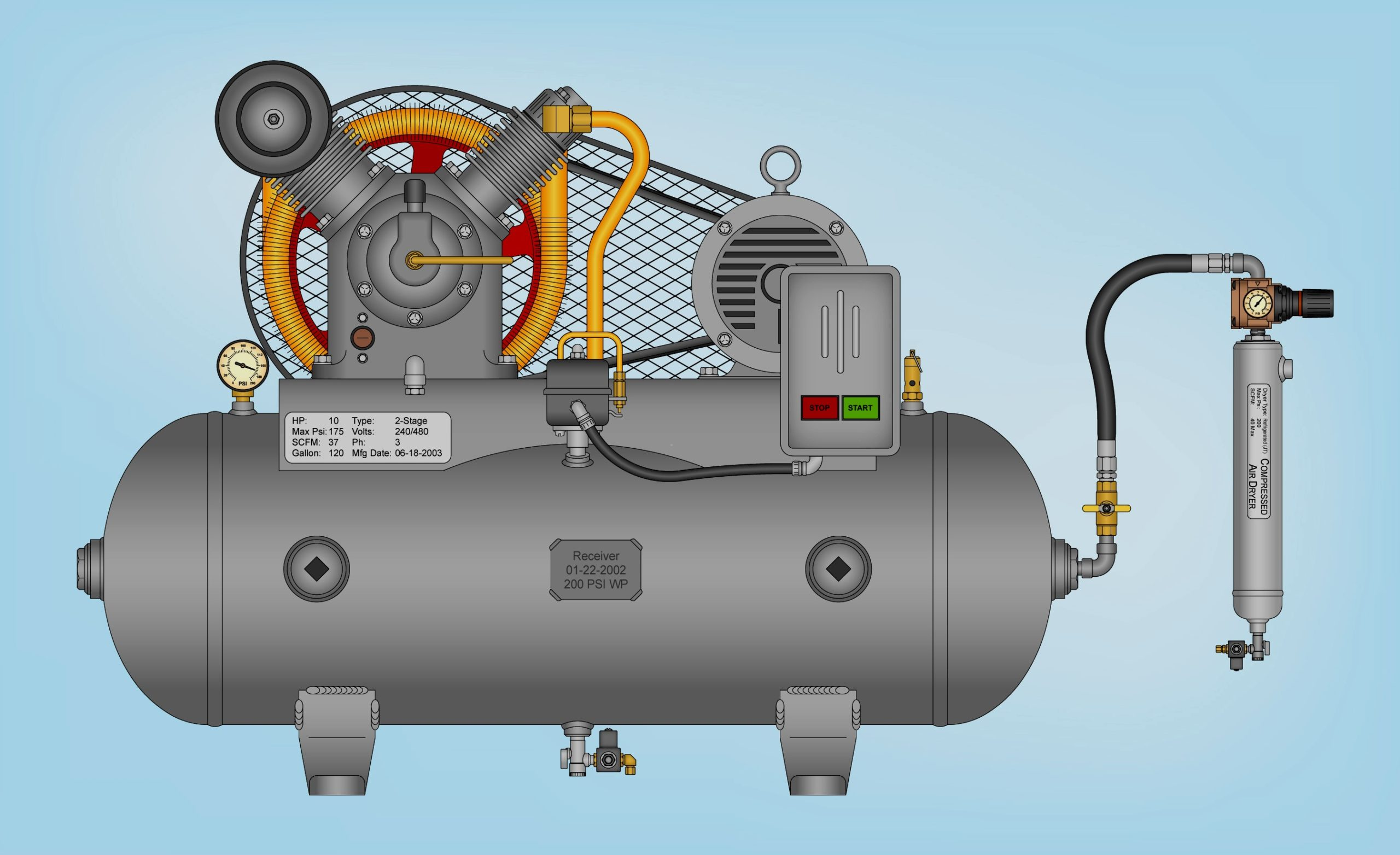 Compressed Air Helps Move Goods